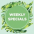 A NEW INITIATIVE FROM OUR KITCHEN – WEEKLY LUNCH SPECIALS